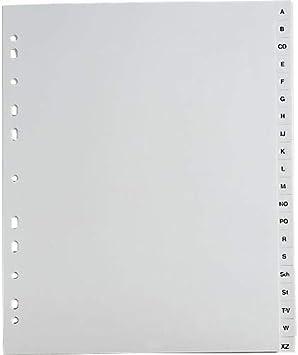 weiß 10x Ordner Register 1-20 20tlg. DIN A4 Farbe