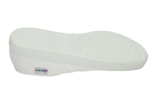 Zapatillas bambas JAVER ZAPATILLAS talla 32 BLANCO LONA