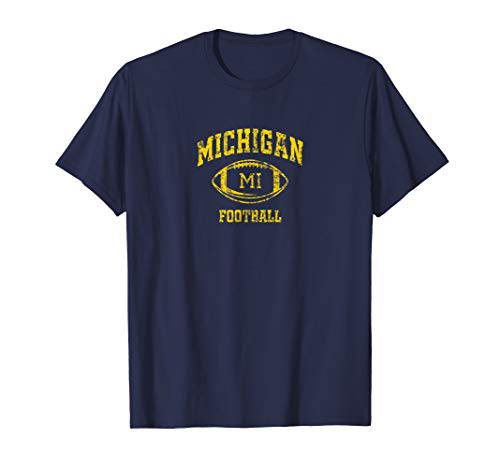 Vintage Michigan Football T-Shirt