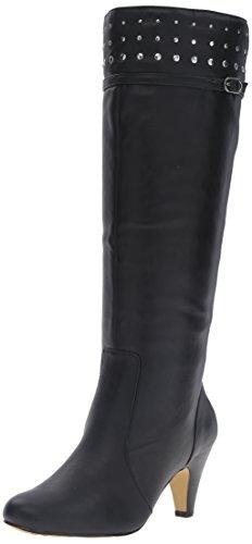 Bella Vita Kvinnor Taryn Ii Tall Boot Svart Syntetisk