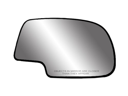 - Fit System 80058 Passenger Side Non-heated Replacement Mirror Glass with Backing Plate