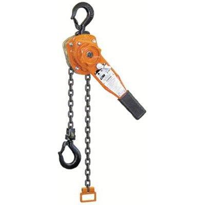 Series 653 Lever Chain Hoists - 653 3 ton lever hoist 10'...