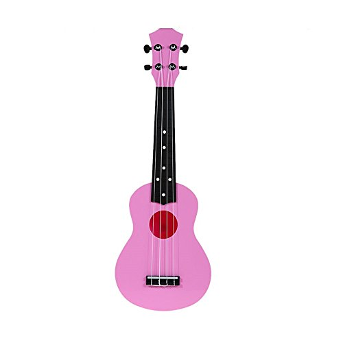 m y fly young toy ukulele 21 inch soprano plastic hawaiian guitar for beginne. Black Bedroom Furniture Sets. Home Design Ideas