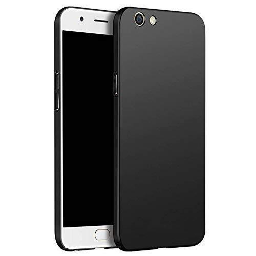 Delkart back cover for Oppo F3 Plus hard Plastic,Black