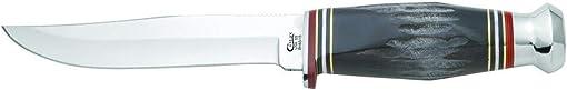 CASE XX WR Pocket Knife Buffalo Horn Hunter Bh65-5 SS Item 17912 – Bh65-5 SS – Length 9 Overall Inches