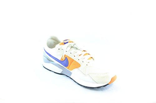 Nike - Zapatillas de Material Sintético para hombre * Bianche arancio grigio