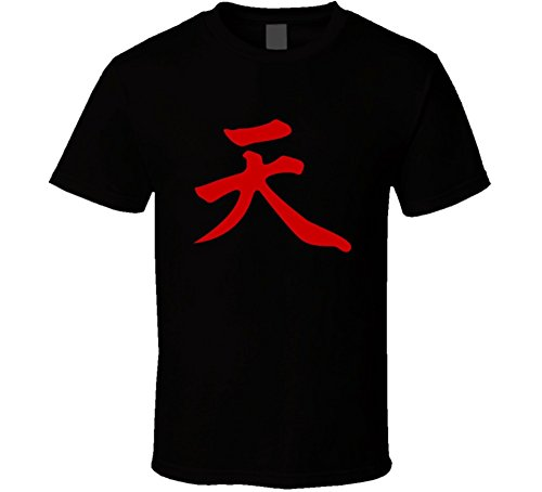 Perfect Fit T Shirts Akuma Gouki Street Fighter Capcom Vega Sagat T Shirt 4XL Black