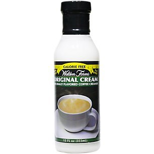 - Walden Farms Flavored Coffee Creamer, Original, 12 Ounce