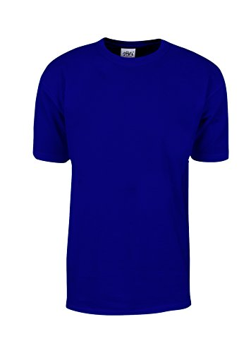 MHS13 2X Max Heavy Weight Cotton Short Sleeve T-Shirt Royal 2X cb729862df8