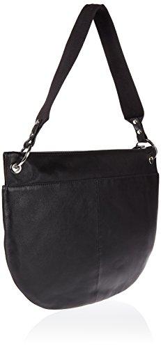 BREE Damen Rhonda 1, Black Studs, Shoulder Bag W17 Schultertasche, Schwarz (Black Studs), 30x0.1x40 cm