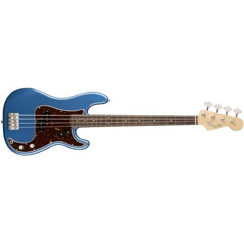 Fender American Original '60s Precision Bass Guitar Lake Placid Blue - Lake Placid Blue Finish