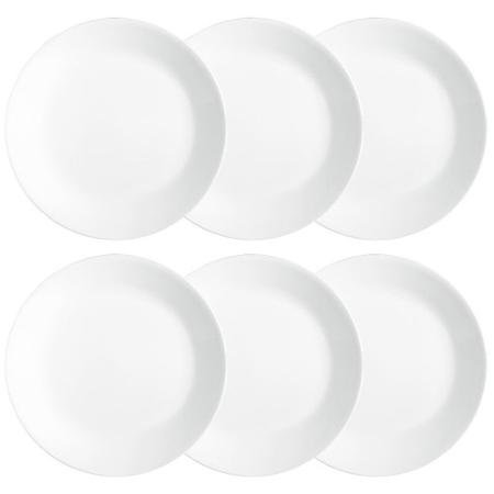 "Corelle Livingware 10.25"" Dinner Plate, Winter Frost White,"