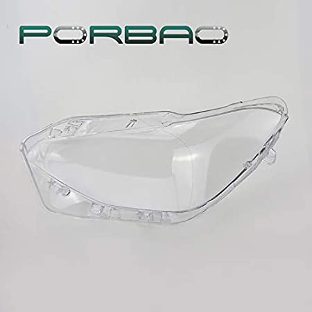 Cubierta de la lente del faro para X1 F20 F21 116i 118i 120i 2011-2014 Cubiertas de repuesto Carcasa Caso 1 par