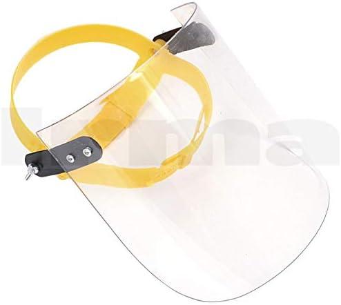Stile a Chip Singolo Trasparente Mobestech Visiera Antiappannante Protezione Fluida della Visiera da Schizzi E Schizzi per Ristorante Allaperto