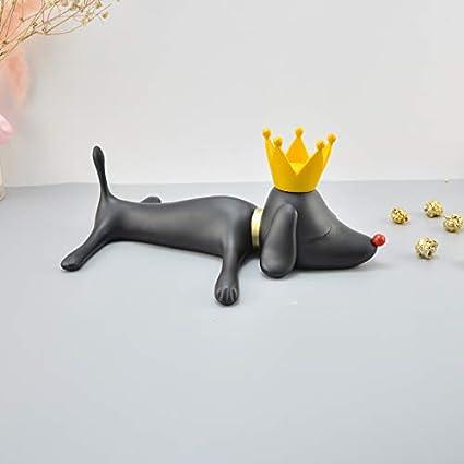 ZAAQ Statue Geschenke Ornamente Dekoration f/ür Zuhause Yoshitomo Nara Hund Japanische Pop Art S/ü/ße Hundefigur Elegantes Geschenk Dekoration Statue B/üro Dekoration