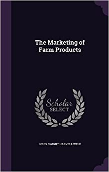 Book The Marketing of Farm Products