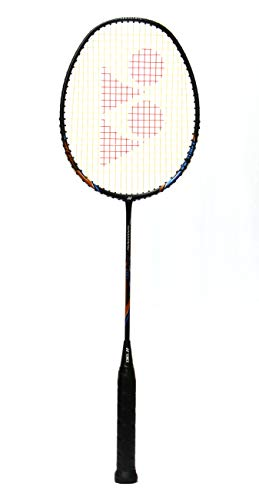 YONEX Badminton Racket Nanoray Series 2018 with Full Cover Professional Graphite Carbon Shaft Light Weight Competition Racquet High Tension Fast Speed Performance
