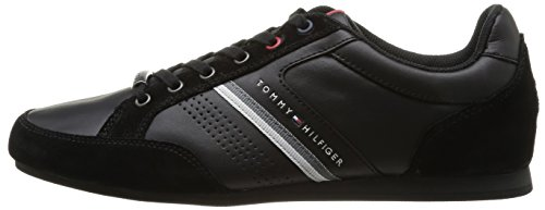229521051487d Tommy Hilfiger Ross Trainer Black EU 40  Amazon.co.uk  Shoes   Bags