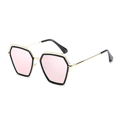 Light Sol Irregular Anti vértigo Moda Espejo Viajes Trend de Anti C1 UV Sombra Personalidad C3 Gafas de Polarized Color Polygon conducción qtIPZ5aw
