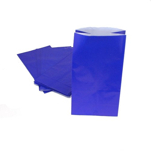 UPC 886102536865, Blue Paper Treat Bags : package of 12