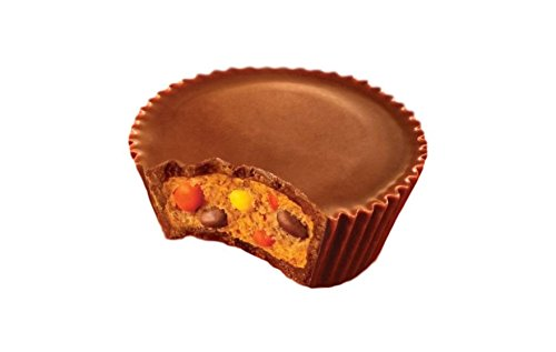 Reese's Stuffed With Pieces! As Seen On Tv! Your Two Favorites In One! 9 oz Bag! Everyone Will Love Them! Delicious!