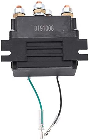 Komous 12V 500A Winch Solenoid Relay Fit Contactor 8000lbs-12000lbs ATV UTV 4WD 4x4 Truck Winch Replacement