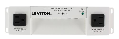 Media Versatile Panel - Leviton 47605-PSC Versatile Power Supply for Structured Media Cabinet
