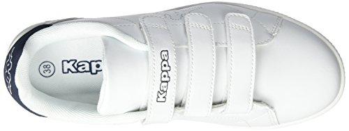 1067 Court White Adulto Scarpe Navy Unisex da Ginnastica Basse Bianco Velcro Kappa qCOdwqz