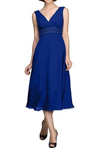 Cocktailkleid Ivydressing Damen Quinceanera Hochzeitgastkleider Elegant Party Linie Royalblau A Brautbegleiterin Abendkleid Hochtaille Fest Saarx0w