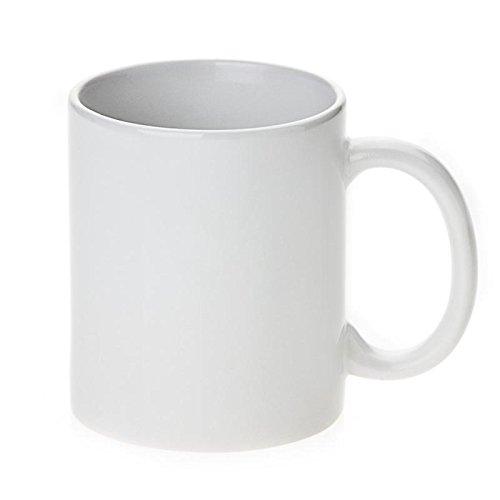 Premium Grade A ORCA* Coated 11oz. White Sublimation Blank Mugs (Qty 36)