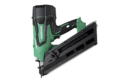 Metabo HPT NR1890DCQ4 18V Cordless Framing Nailer, Tool Only – No Battery, Brushless Motor, 2″Up to 3-1/2″ Clipped & Offset Round Paper Strip Nails, 30° Magazine, Lifetime Tool Warranty