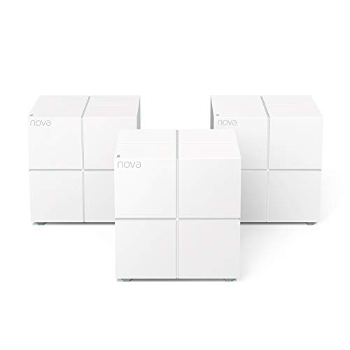Tenda MW6 Nova Wave 2 802.11AC, Mu-Mimo Whole Home Wi-Fi Mesh System, 3-Pack ()