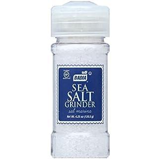 Badia Sea Salt Grinder, 4.5 Ounce (Pack of 12)