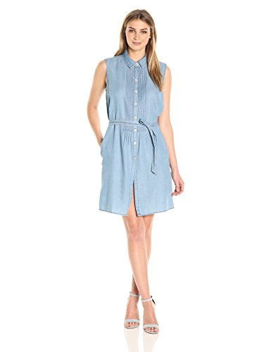 Women's Clarice Denim Sleeveless Dress