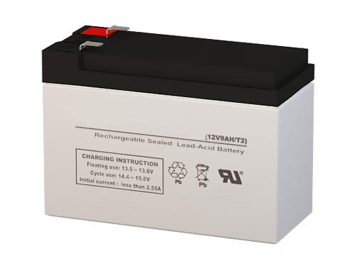 100/% Compatible Replacement for Rhino SLA9-12//T25 12V 9Ah Compatible Battery with F2 Terminals by UPSBatteryCenter/®