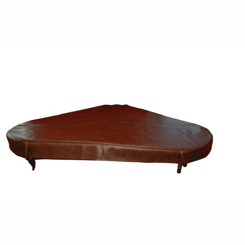 - QCA Spas SI7954 Replacement Hot Tub Flex Cover for Aqarius Spa, 88 by 72 by 72-Inch, Teak