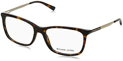 Michael Kors VIVIANNA II MK4030 Eyeglass Frames 3106-52 - Dk - Gold Tortoise