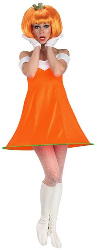 sc 1 st  Amazon.com & Amazon.com: Rubieu0027s Pumpkin Spice Orange One Size Costume: Clothing