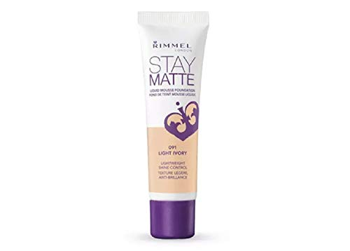 Rimmel Stay Matte Foundation, Light Ivory, 1 Fluid Ounce
