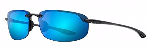 Maui Jim - Ho'okipa - Smoke Grey Frame- Blue Hawaii Polarized - Jim Sport Maui