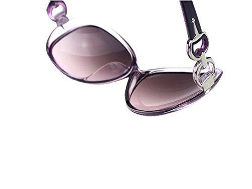 Gafas nbsp;– protección gafas nbsp;Mode de mujer sol de UV400 Nikgic Violet polarizadas 010 gran marco para xPF1qfn0w
