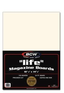 LIFE Magazine Backing Boards (100 Count) by BCW