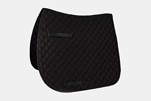 Union Hill Dressage Pad (Union Hill CoolMax Dressage Saddle Pad Black/Black)