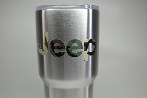 Set of (2) Jeep Wrangler Script Logo 4