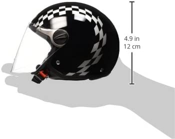 53//54 Wei/ß BHR Helm 710 Demi Jet Casco
