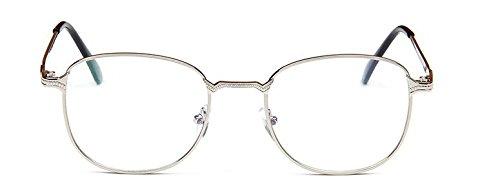 mode Embryform miroir simple m¡§?tal conception vintage lunettes de montures de lunettes miroir cadre tee ¡§?tudiant sRvsOyT