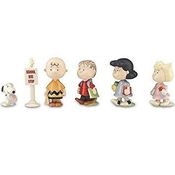 PEANUTS® Back to School Figurine Set by