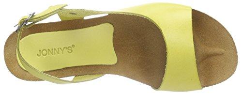 Jonny'sMeda - Sandalias de Talón Abierto Mujer Amarillo - Gelb (limon)