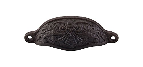 Top Knobs M63 Chateau Abbot Cup Pull Rust