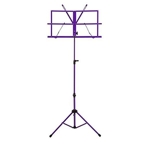 Ravel SSSRAVELPURPLE Folding Music Stand, Purple